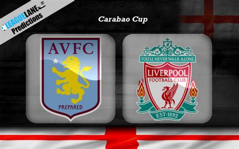 Liverpool And Aston Villa Head To Head