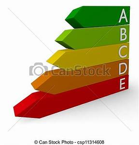 Stock Illustration of Energy classification, 3d concept ...