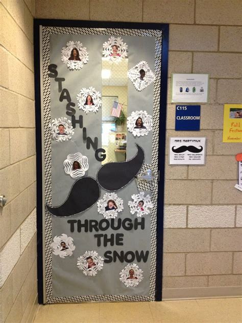 winter classroom door decorations winter door decorations for classrooms just b cause