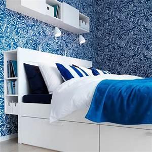 Lit 120x190 Avec Rangement : rangements chambre s lection de lits avec rangements c t maison ~ Teatrodelosmanantiales.com Idées de Décoration