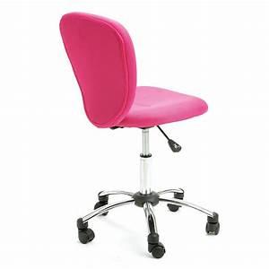 Chaise De Bureau Rose : chaise de bureau colors rose ~ Teatrodelosmanantiales.com Idées de Décoration