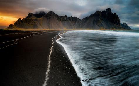 Black Sand Beach Iceland Pics