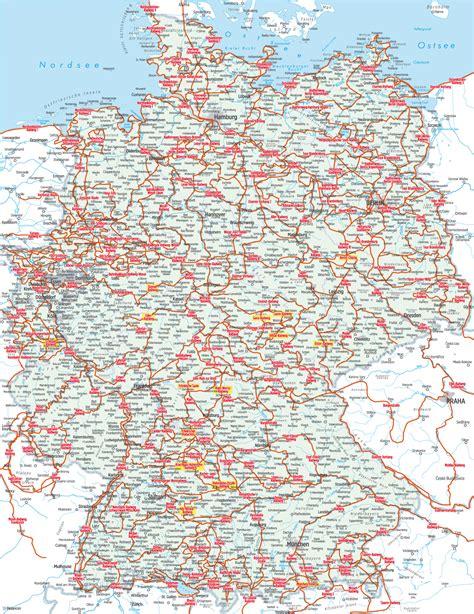 Radwege Deutschland Karte
