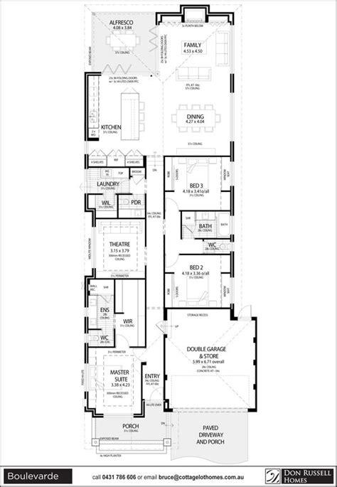boulevarde narrow lot house plans narrow house plans narrow lot house