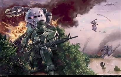Zeon Wallpapers Gundam Jaburo War Invasion Uc