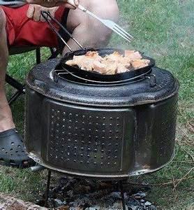 Fabriquer Un Barbecue Avec Un Bidon : recyclage tambour machine laver blog de g ~ Dallasstarsshop.com Idées de Décoration
