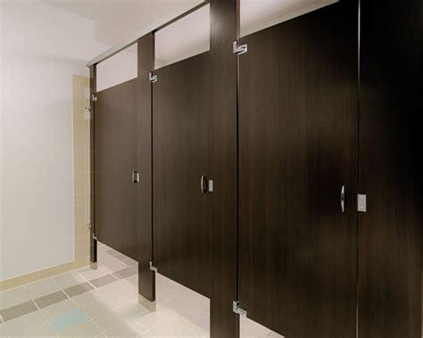Bathroom Stall Dividers Edmonton by Ironwood Manufacturing Wood Pattern Plastic Laminate