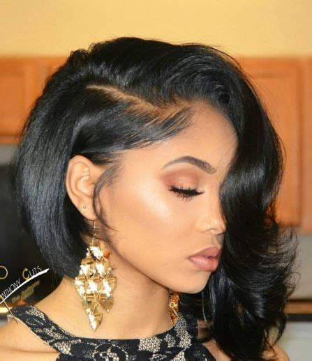 Black Hairstyles For Relaxed Hair 262 best hair styles images on