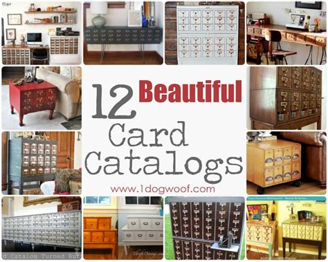61 Best Card Catalog Creativity Images On Pinterest