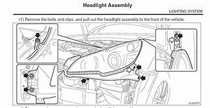 Subaru Outback Parts Diagram Replace Head Lamps