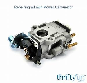 Repairing A Lawn Mower Carburetor