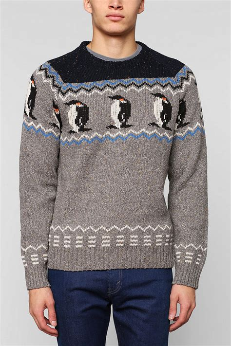 penguin sweater character penguin sweater from outfitters