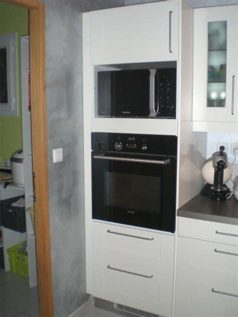 meuble colonne cuisine ikea meuble pour four encastrable et table de cuisson ikea