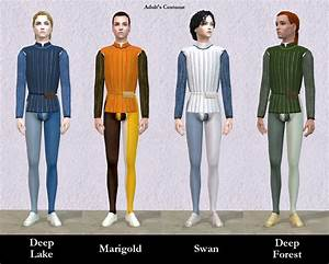 Mod The Sims - Italian Renaissance Romeo Costumes | Sims 2 ...