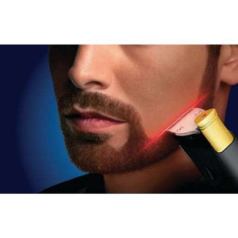laser guided facial hair clippers philips norelco beard trimmer