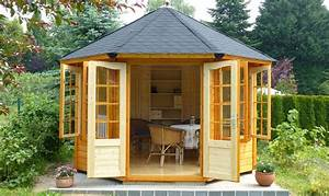 Gartenlauben Aus Holz : gartenlauben grilllauben und pavillons aus holz ~ Watch28wear.com Haus und Dekorationen