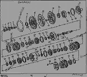 Transmission Clutch Assembly  Pto   02i23
