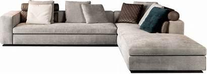 Sofa Living Bench Shaped Grey Seats Chair