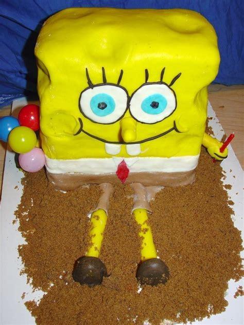 spongebob cake  cartoon cake cooking baking
