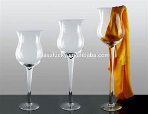 Gros Vase En Verre : gros g ant vin vase en verre pour la d coration de mariage vases en verre cristal id de ~ Teatrodelosmanantiales.com Idées de Décoration