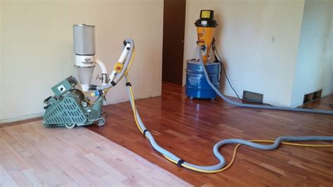 Dustless Floor Sanding Machines by Hardwood Floor Refinishing Dustless Vs Sandless