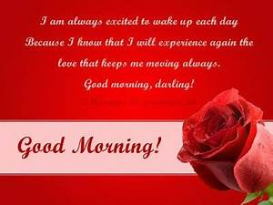 Romantic Good Morning Love Messages For Girlfriend / Wife ...