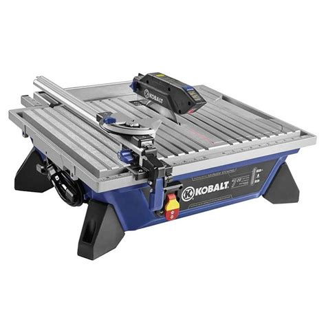 kobalt 7 in tabletop tile saw kws b7 06 tabletop and