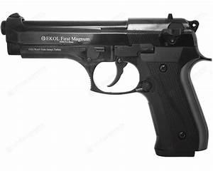 Vidéo De Pistolet : pistolet blanc beretta 92fs ekol firat magnum noir 9mm pak sd equipements ~ Medecine-chirurgie-esthetiques.com Avis de Voitures