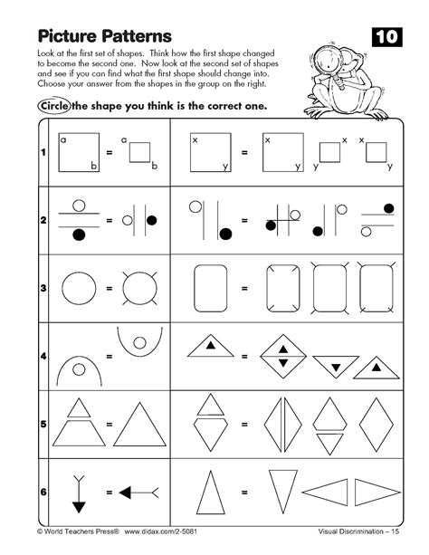 images  cognitive skills worksheets printable
