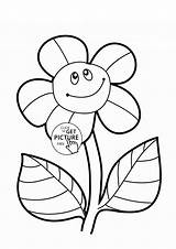 Coloring Sunflower Flower Pages Sunflowers Funny Colouring Printables Flowers Printable Preschool Drawing Simple Ginny Template Wuppsy Weasley Bud Plants Getdrawings sketch template