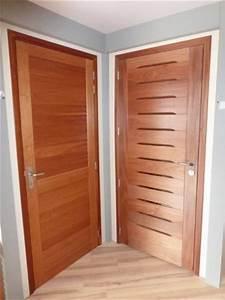 Porte En Bois Intérieur : portes d int rieur ~ Dailycaller-alerts.com Idées de Décoration
