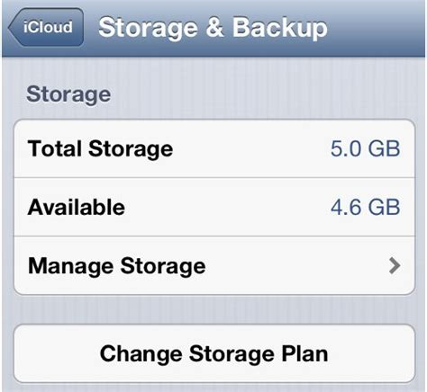 how to check icloud storage space in iphone iphone how