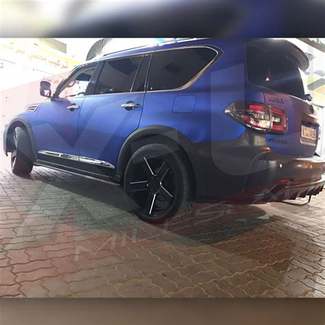 nissan patrol nismo style   full exterior conversion
