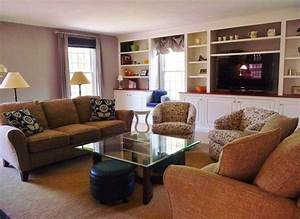 Groton Family Friendly Living Room