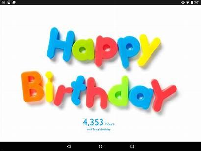 Countdown Birthday Widget Birthdays Android