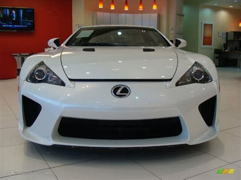 lexus coupe white pearl white 2012 lexus lfa coupe exterior photo 60723754