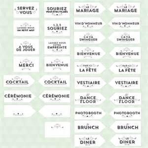 livret de messe mariage kit diy panneau mariage vintage à télécharger