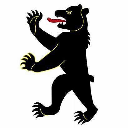 Bear Heraldic Heraldry Arms Vector Insignia Coat