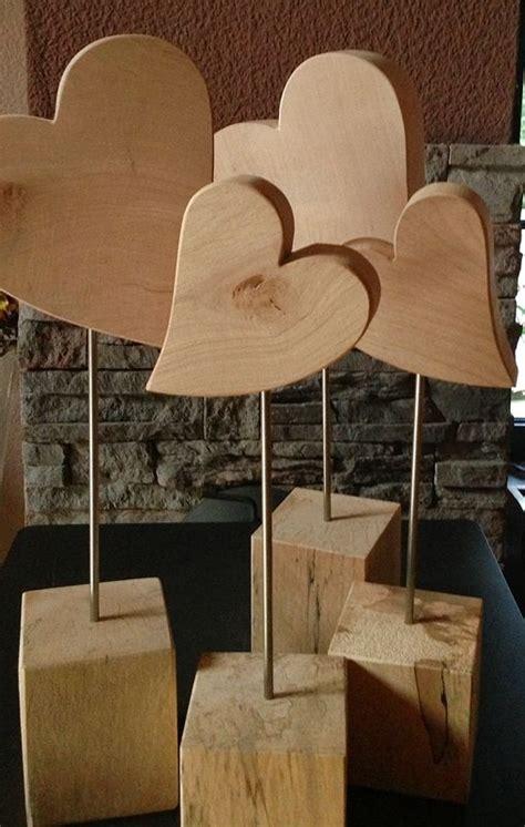 Herzstandfuß, Größe 2, Höhe 52 Cm, Holzdeko Holzliebe