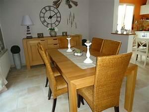 Table Salle à Manger : d coration table salle a manger ~ Teatrodelosmanantiales.com Idées de Décoration