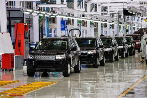 Land Rover Jaguar Line by Jaguar Land Rover Assembly Plant Inaugurated In Pune Mh