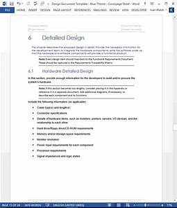 design document sdd template 22 page ms word With software application documentation template