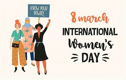 International Different Womens Nationalities Vector Illustration Cultures