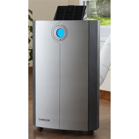 fan and air conditioner amcor plasma 12000 btu portable air conditioner 190688
