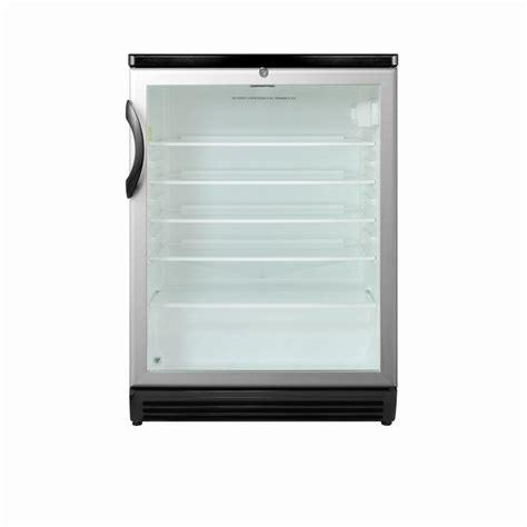 glass door mini refrigerator summit appliance 5 5 cu ft glass door mini refrigerator