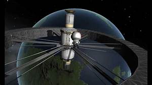 rotating wheel space station KSP - YouTube