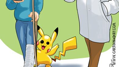 pokemon  cartoon doctor cartoon