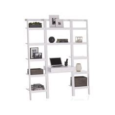 1000 ideas about leaning desk on leaning shelves crate and barrel and desks