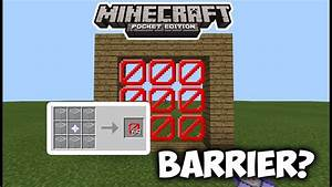 HOW TO OBTAIN BARRIER BLOCKS IN MCPE Minecraft PE