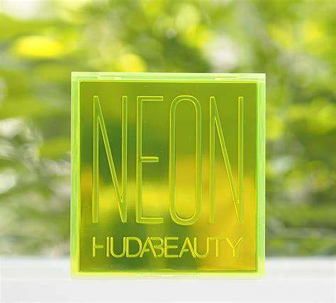 huda neon palette british beauty blogger